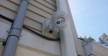 Wired home security camera systems