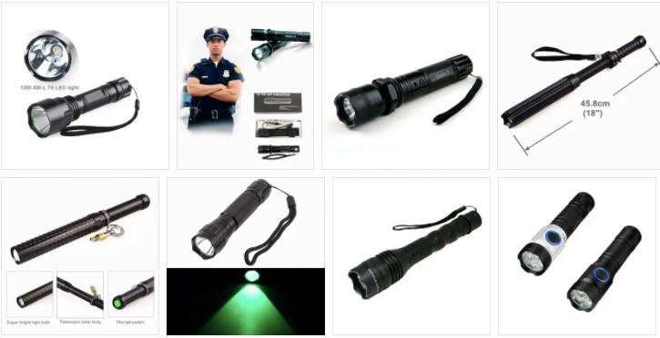 Police Security Flashlight